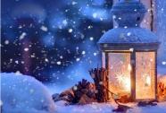 Winterfeeling beim Dorfner